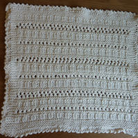 Set of Three Knitted Dishcloths