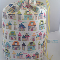 Large home sweet home  project bag