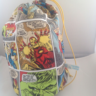 Large Comic book print project bag