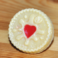 Jammie Dodger resin Ring