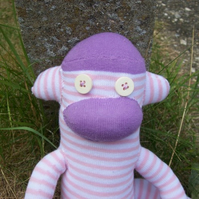 Bernard the Sock Monkey - reserved listing