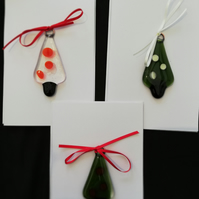 Christmas Tree - Fused glass