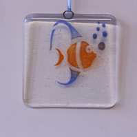 Angelfish suncatcher