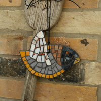 Quirky Mosaic Bird