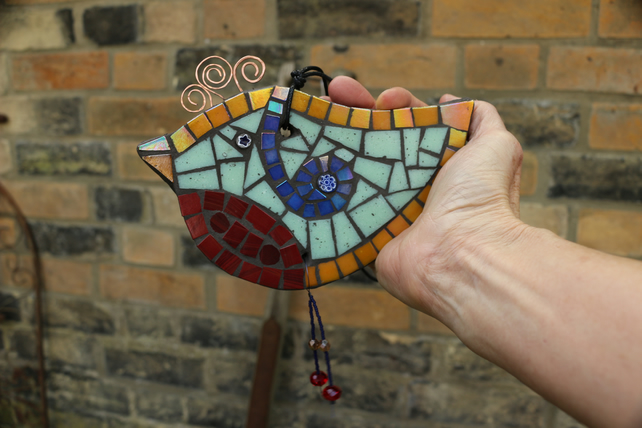 Colourful Bird Ornament