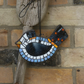 Pale Blue and White Mosaic Bird, Suitable for the garden or home