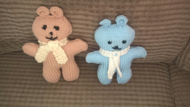 Hand Knit Teddy