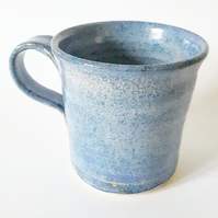 Ceramic Mug in Blue Glazes for tea or coffees