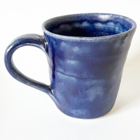 Ceramic Mug in Blue Glazes
