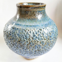Ceramic Vase in Blue