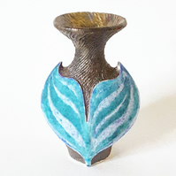 Miniature Bottle Form Vase