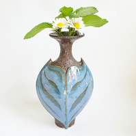 Ceramic Art Sculptural Vase