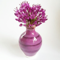 Miniature Purple Vase