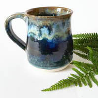 Stormy Skies Over A Dark Blue Sea Mug
