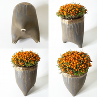 Three legged Ceramic Plant Pot Holder