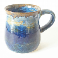 Stormy Scene at the Seaside Ceramic Mug