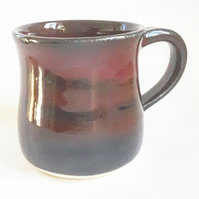 Hand Thrown Ceramic Purple Mug