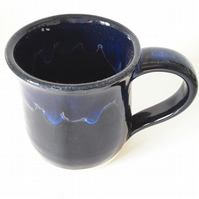 Blue Wave Ceramic Mug