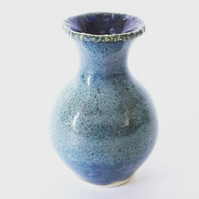 Miniature Ceramic Vase in Blue