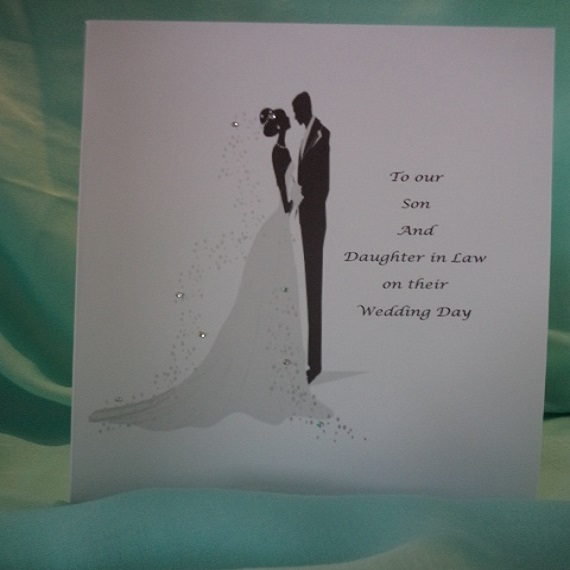 To Our Son Wedding Day Card