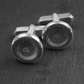 Mooncrater Cufflinks