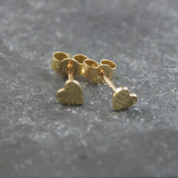 Heart Earrings in 9ct gold
