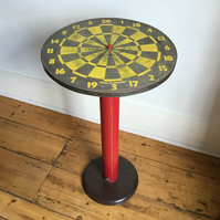 Dart board table