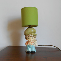 Little Boy Table Lamp
