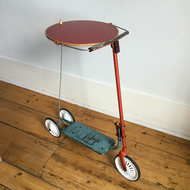 Round Scooter Side Table