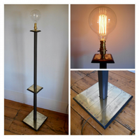 Upcycled Floor Lamp