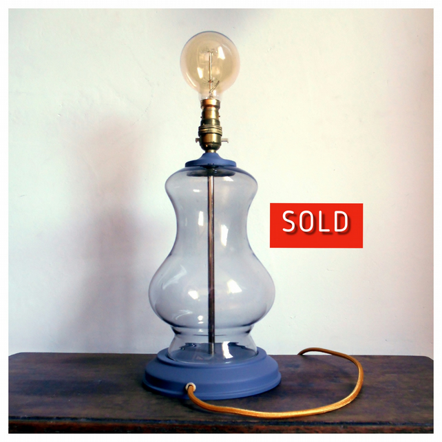 A Bell Jar Table Lamp