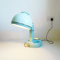 Lady Schick Hairdryer Lamp