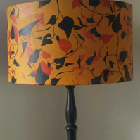 Original, Autumn inspired lampshade. Hand rolled