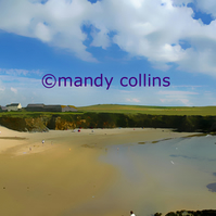 'Cable Bay Anglesey'  - A4 Epson Archival Matte art print