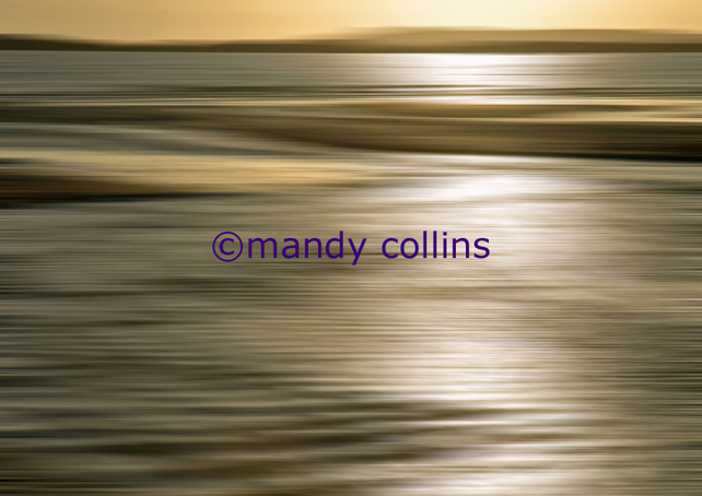 'Golden Sea' - A4 Epson Archival Matte art print