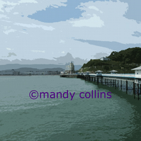 Llandudno from the Pier