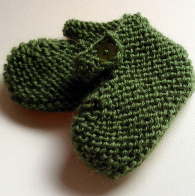 Hand knitted Baby Slippers