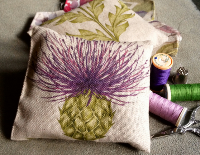 Gorgeous Pin Cushion in Voyage Blair fabric