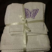Towel and Flannel gift set