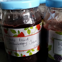 Whole Fruit Strawberry Jam