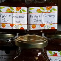 Apple and Gooseberry Jam