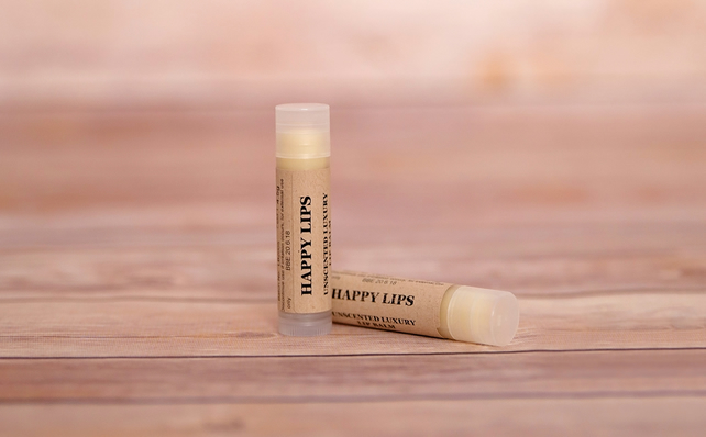 GK Natural Creations Happy Lips Unscented Lip Balm 4.5g