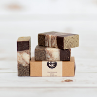 GK Natural Creations Coffee Scrub Soap 85g