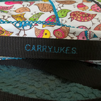 CarryUkes™ Funky Bird (no.2) Ukulele Bag with rucsack style straps