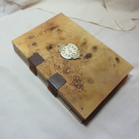 Clockwatching -Handmade Notebook Diary Sketchbook