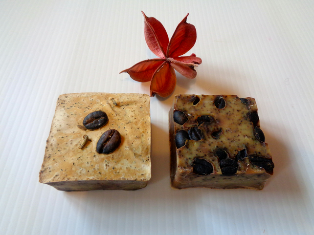 Homemade soap- essential oils-natural-christmas-valentine- mother's day- vegan