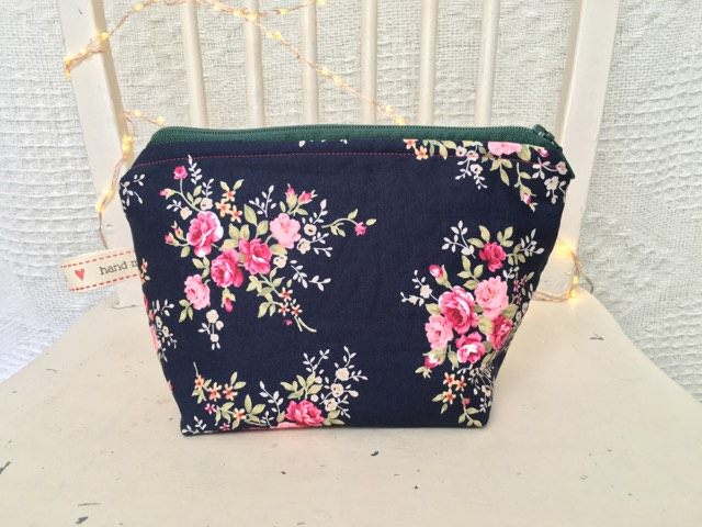 Small Rose Make-up Bag