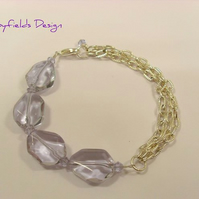 Almost Water Sapphire Bracelet SRAJD Purple Chains