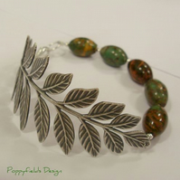 Autumn Leaf Bracelet