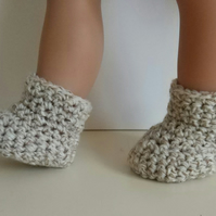 Doll boots to fit 18in dolls or premature baby